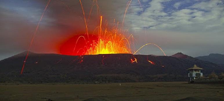 Letusan Gunung Bromo 2004