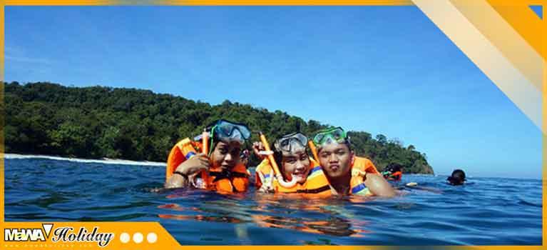 Wisata air batu karas