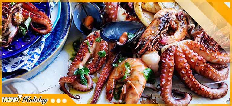 Kuliner seafood pangandaran