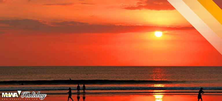 Sunset kuta bali