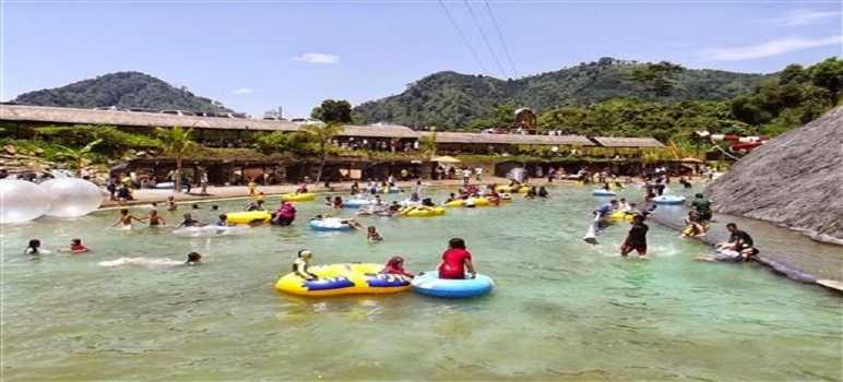 Fasilitas Wisata Curug Bidadari Sentul Paradise Park