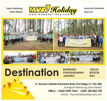 Paket Wisata Bandung Mawa Holiday Tour & Travel