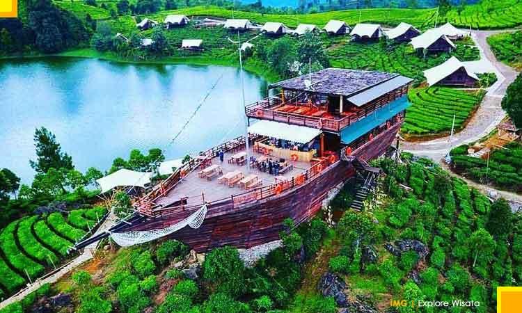 Paket Tour Ciwidey Kunjungan Glamping Lakeside Resort
