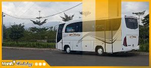 Sewa Bus Pariwisata Medium Bandung Pangandaran