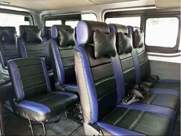Interior Unit Sewa Mobil Hiace Commuter di Bandung Terbaru