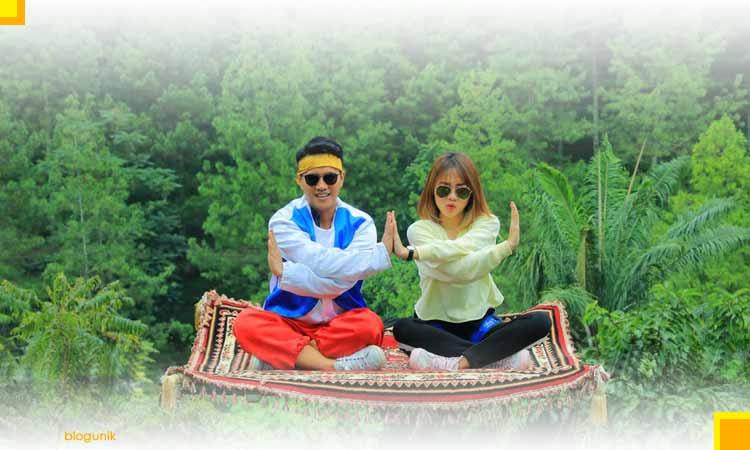 Kunjungan Wisata The Lodge Maribaya Bandung