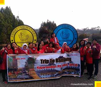 Tour Jakarta Bandung Kunjungan wisata floating market lembang