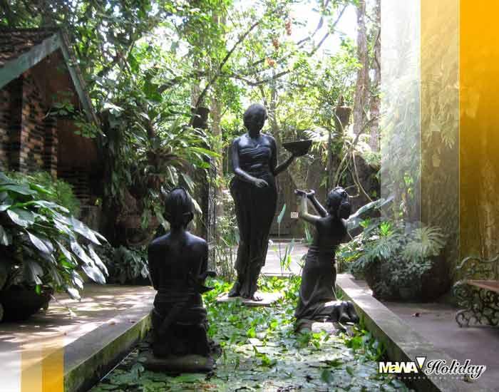 Sejarah museum ullen sentalu yogyakarta