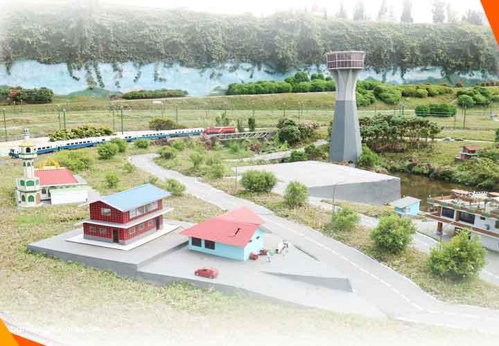 Wisata Taman Miniatur Kereta Lembang