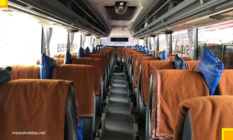 Interior fasiltas bantal selimut 50 seat
