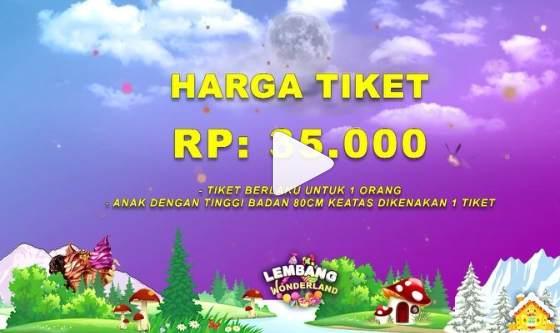 Harga Tiket Masuk Lembang Wonderland Bandung
