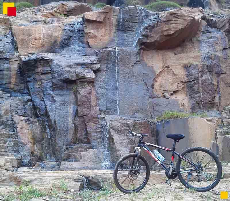 Wisata ke curug batu templek bandung timur